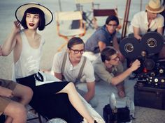 'Behind the Scenes' by Phil Poynter for Vogue Turkey ~ March 2012