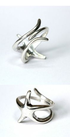 STARFISH RING I want this for a toe ring for the summer