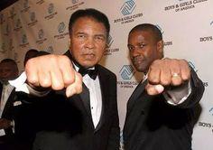 Ali and Denzel.