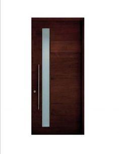 Custom Made Contemporary Modern European Style Entry Door