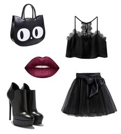 """""""on the town"""" by melziggy-mb on Polyvore featuring Little Wardrobe London and Lime Crime"""
