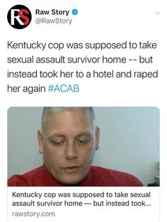 Fucken piece of shit << WTF is wrong w people like this! You're job is to protect and serve, not rape and destroy. Look Here, Intersectional Feminism, Hate People, Pro Choice, Equal Rights, Faith In Humanity, Social Issues, Social Justice, Human Rights
