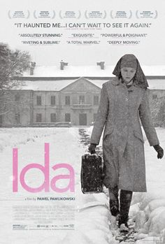 Ida movie (2013) - Anna, a young novitiate nun in 1960s Poland, is on the verge of taking her vows when she discovers a dark family secret dating back to the years of the Nazi occupation.
