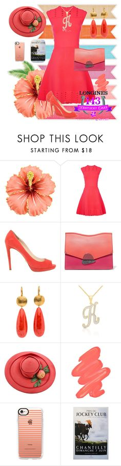 """""""Don't Hold the Yoke 🐎"""" by klm62 ❤ liked on Polyvore featuring Ted Baker, Prada, Proenza Schouler, Finesque, Obsessive Compulsive Cosmetics and Casetify"""