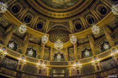 Ópera privada dentro del Palacio de Versalles – Aposentos privados del Palacio de Versalles