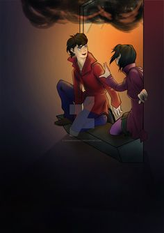 Lucy and Lockwood. The Window by GuardianDany on DeviantArt