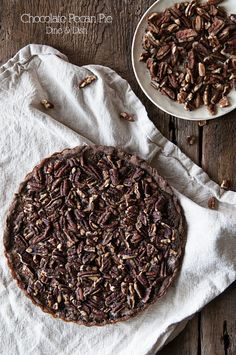 Double Chocolate Pecan Pie - a great twist on a classic recipe!