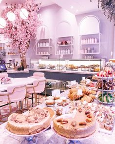 Elan Café: The Most Perfectly Pink Place For Coffee In London