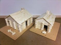Lincoln Logs - by SPalm @ LumberJocks.com ~ woodworking community