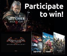Who wants a giveaway? WE DO! We're giving away some awesome games powered by NVIDIA GeForce: Grand Prize – The Witcher 3: Wild Hunt 2nd Place – Batman: Arkham Knight 3rd Place – Pick Your Path: choose between The Crew, Far Cry 4, or an Assassin's Creed: Unity All you need to do is… 1) … Continue reading Witcher 3 & Batman: AK Giveaway