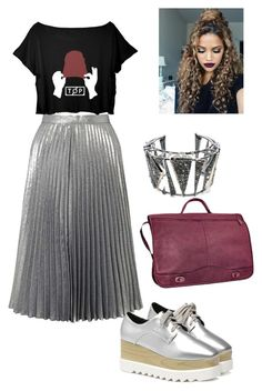 """Anisa #3"" by ana-isabel-goncalves on Polyvore featuring Miss Selfridge, David King & Co. and Alexis Bittar"