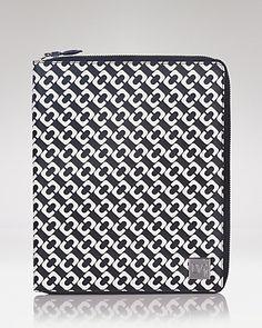 DIANE von FURSTENBERG iPad Case - Chain Link Small | Bloomingdale's