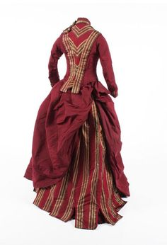 Day dress ca. 1880's