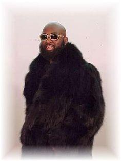 Black Fox Fur 3/4 Jacket