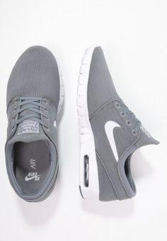 Nike SB STEFAN JANOSKI MAX - Sneakers - cool grey/white/dark grey - Zalando.se