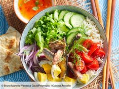 undefined Poke Bowl, Buddha Bowl, Cobb Salad, Lunch Box, Brunch, Nutrition, Eat, Cooking, Recipes