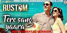Tere Sang Yaara (Rustom) Song Instrumental Version Download (Original Quality)-Atif Aslam Easy Guitar Chords, Atif Aslam, Instrumental, Hd Video, Karaoke, Singing, Songs, Videos, Movie Posters