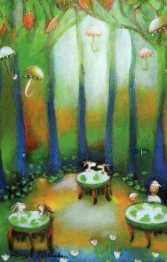 Image detail for - Raija Nokkala Postcards, Painting, Illustrations, Image, Detail, Art Illustrations, Artists, Illustrators, Painting Art