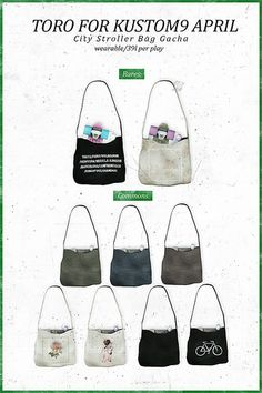 Toro. City Stroller Bag for kustom9 april | Flickr - Photo Sharing!