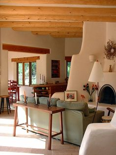 Adobe Guest Cottage in New Mexico. Love this,  could definitely live here