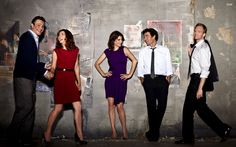 How I Met Your Mother - Saison 7 : Photo Alyson Hannigan, Cobie Smulders, Jason Segel, Josh Radnor, Neil Patrick Harris Ted Mosby, Barney E Robin, Ted And Robin, How I Met Your Mother, Best Tv Shows, Best Shows Ever, Favorite Tv Shows, Favorite Things, Actor