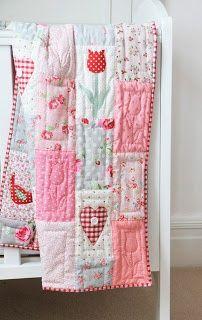 Helen Philipps. adorable applique quilt.