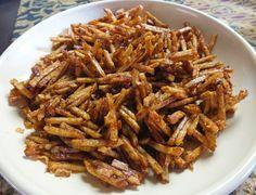 Sambal goreng kentang kering - Nieuw! Significant verbeterd! - Kokkie Slomo - Indische recepten