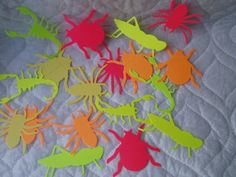 20 Creepy Crawly Insects Bugs for Boys Party #dteam