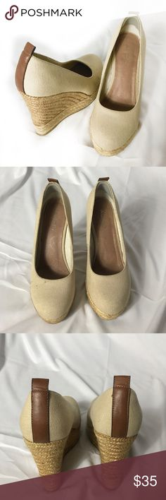 Aldo Espadrille Wedges Great pre-loved condition. No damage. Size 8. Aldo Shoes Wedges