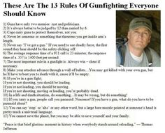 12 rules of gunfighting everyone should know