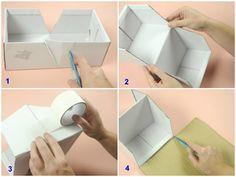 artesanato caixa organizadora escritorio - Pesquisa Google