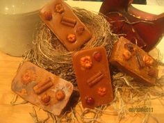 Primitive Hot Mulled Cider Yummy Autumn Candle Tarts-CPLG, PAFA, ab4b, wrr,sttpp