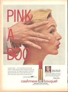 Cashmere Bouquet Lipstick (Both Sides) Smirnoff Vodka Vincent Price Page LIFE…