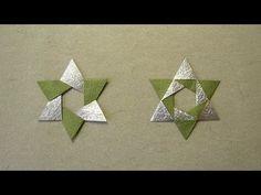 Christmas Origami Instructions: Star Sonobe (Maria Sinayskaya) - YouTube