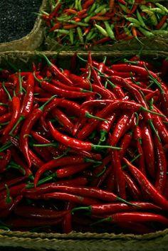 Market chilis-hot hot hot