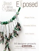 This book co-authored with myself, Margot Potter and Fernando DaSilva includes over 50 high-fashion jewelry pieces made using unique techniques that reveal typically hidden components like beading wire, cording, findings, tubing and chain as the central focus of the design.