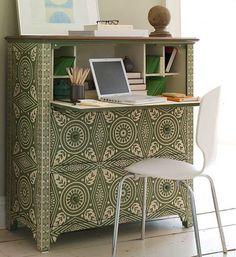 Custom desk idea for small space