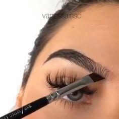 makeup eyeshadow makeup pads makeup normal makeup video hindi makeup art makeup video makeup inspiration makeup for grade Eyebrow Makeup Tips, Makeup Eye Looks, Makeup 101, Beautiful Eye Makeup, Skin Makeup, Makeup Inspo, Eyeshadow Makeup, Makeup Eyebrows, Beautiful Beautiful