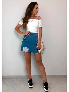 Swans Style is the top online fashion store for women. Shop sexy club dresses, jeans, shoes, bodysuits, skirts and more. Cute Summer Outfits, Classy Outfits, Cool Outfits, Casual Outfits, Cute Fashion, Girl Fashion, Fashion Looks, Fashion Outfits, Womens Fashion