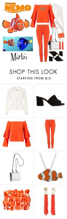 """""""Marlin"""" by allyssister ❤ liked on Polyvore featuring Maryam Nassir Zadeh, Miss Selfridge, Lauren Ralph Lauren, Kendall + Kylie, Animal Planet, Mixit, Aqua and MAC Cosmetics"""