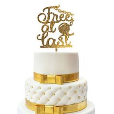 Best price JennyGems Cake Topper - Divorce Party, Just Divorced, Break Up Party, Relationship Ends Party Cake Topper - Free At Last Breakup Party, Divorce Party, End Of Marriage, Pear And Almond Cake, Free At Last, Divorce Mediation, Divorce Papers, Silhouette Design, Party Cakes