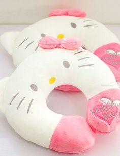 Hello kitty neck pillow: