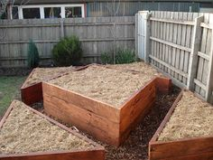 love this idea for a raised veggie garden. Artistic as well as practical!