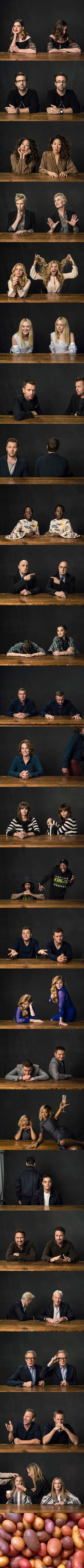 Photographer Asked Celebrities To Reveal Their Public And Private Personalities In Intimate Double-Portraits