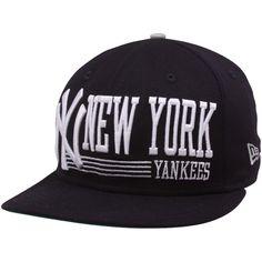 New Era New York Yankees Navy Blue Retro Look 9FIFTY Snapback Adjustable  Hat Yankees Hat 4cdd294d9