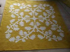 Breadfruit/Ulu quilt is said only to bring abundance of luck, money, food and comfort to ones life and home.