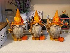 Christmas Gnome, Diy Christmas Gifts, Holiday Crafts, Cute Crafts, Crafts To Do, Creative Crafts, Autumn Crafts, Thanksgiving Crafts, Fall Halloween