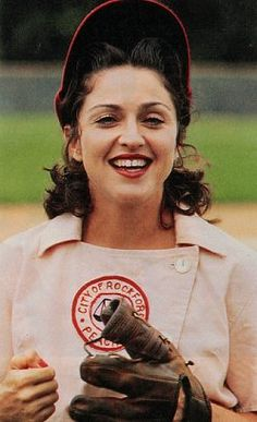 Madonna #baseball A League of Their Own