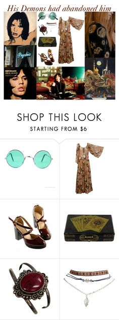 """""""PERFORMANCE"""" by magickofthelema ❤ liked on Polyvore featuring Andy Warhol, Jagger, Emilio Pucci, Wet Seal, Bohemian, witch, 60s, jagger and magick"""
