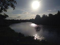 Sunset Lagoas Cristalinas. Ceará - Brasil